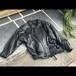 メキメキ柄の革ジャケット