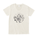 白日の隅Tシャツ(オフホワイト/Uネックタイプ)
