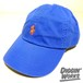 Polo Ralph Lauren Classic Chino Cap Royal / Orange