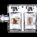 iPhone・Android Mサイズ 香水手帳型ケース color:ブルー