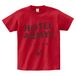 H/A LOGO STAR ICON T-SHIRTS GARNET-RED