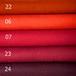 フェルト レッドーワインレッド 5色セット: 100%ウールフェルト 20X30cm 1mm