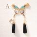 ⌘蝶の戯れ⌘ 耳飾り 復刻版