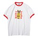 BUNNY S/S TEE(RED)[TH9S-001]