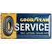 TIN SIGNS Goodyear Service