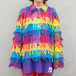 Rainbow Fringe Jacket