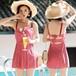 【送料無料】【2色】おしゃれ 可愛い リボン結び ギンガムチェック 水着 ワンピース リゾート 夏 海 ビーチ プール