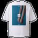 vibeca ポケットTシャツ white