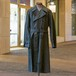 50's FRENCH NAVY RUBBERIZED COAT
