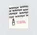 Walnut 刺繍パッチステッカー LIP STICK & TIRED