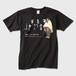 Tシャツ 黒 メンズ( トナー熱転写)