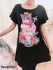 デビルルパフェBIGワンピースTシャツ