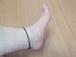 健康リング 足首用シリコン製 健康楽々くん