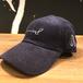 SURF BOARD LOGO CODYROY CAP(ネイビー)サーフボードロゴコーデュロイキャップ(ユニセックス) Number8(ナンバーエイト)