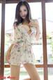 【送料無料・3点セット】浴衣ドレス シフォンパジャマ ランジェリー レディース 花柄和風 浴衣着物ドレス バスローブ