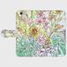 zhs0007-cymbidium&flowers iPhone6/6s用手帳型スマホケース