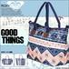 ERJBP03853 ロキシー ショルダーストラップ付きトートバッグ GOOD THINGS かわいい ROXY おしゃれ 肩掛け レディース 海 プール 夏 人気ブランド