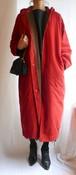 HERMES 1980's Hoody Zip Coat