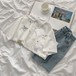 カジュアル 可愛い シンプル POLOネック 半袖 刺繍 カレッジ風 シャツ・トップス