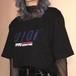 【トップス】アルファベットカジュアルラウンドネックTシャツ