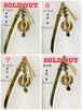 miccabose刀かんざし(ゴールド系)