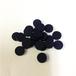 黒15mm木製ディスク(約150個)