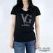 ラインストーンVGロゴTシャツ【VS9503K】