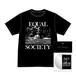 EQUAL SOCIETY T-Shirt Ver.1+Boot Cassette & CDR set BLACK [1902]