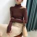 Cut shoulder knit tops || カットショルダーニットトップス || A90901