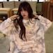 ジェントル 上品 カジュアル 柔らか 着回し力抜群 韓国ファッション シンプル コージー  パーカー・トップス