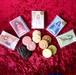 女神の占いカード付きクッキー〈全5種類・ランダムに20袋入り〉プチギフト・引き菓子に!