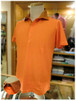 【LIBERO DIAMBRA】- Italy -          リベロディアンブラ   半袖ポロシャツ    ウォッシュ加工×花柄切り替え