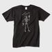 Tシャツ メンズ 黒 メンズ Mサイズ トナー熱転写