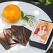【恋の女神 天宇受売命】夏みかんピール&ブラックココアクッキー 箱入りカード型クッキー・女神のメッセージカード付