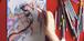 7月24日、19:00~19:45  Zoomで心と色のぬりえワークショップ★「真珠子45歳展 現代版・特急おくのほそみち」記念