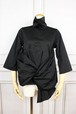 A KNOT blouse BLACK