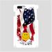 LIFE is life スマホケース(二コちゃんアメリカンフラッグ)各iPhone Plus、Android L用 送料無料!