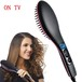 EU US UK TV Hot Simply Straight Electric Degital Control  Antiscaled Fast Hair Straightener Brush Comb Irons Lcd Display