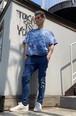 【YKG】マクラート Tシャツ【ブルー】【新作】イタリアンウェア《M&W》