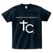 TSUBOMIN / COPYRIGHT T-SHIRT NAVY