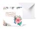 12種類のスクエアグリーティングカード 《Gentleman's Rose  紳士のバラ》