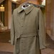 4-50's FRENCH ARMY MOTORCYCLE  COAT DEADSTOCK