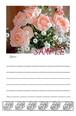 薔薇のメッセージカード*No,36「やはらかな華やぎ」