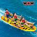 WOW(ワオ) ジェットボート 3人乗りトーイングチューブ
