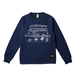 BURITSU BOX SWEAT : Navy