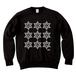 ERICH / NINTH HEXAGRAM CREWNECK SWEAT BLACK