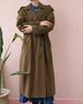 Anne klein brown trench coat