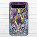 #016-023 モバイルバッテリー ロック 女の子 かわいい スカル iphone スマホ 充電器 タイトル:スミス 作:nero