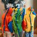 【トップス】おしゃれ不規則超かわいい暖かい長袖フード付き配色パーカー24786497