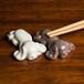 キャバリア 陶器の箸置き(ペア)